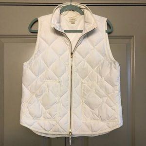Jcrew White vest